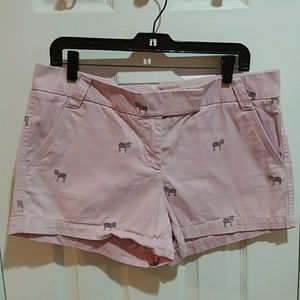 J. Crew Pink Broken In City Fit Chino Sz 10